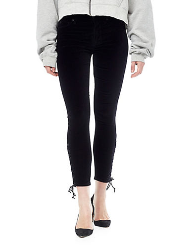 Hudson Jeans Nix High Rise Crop Jeans-BLACK-26