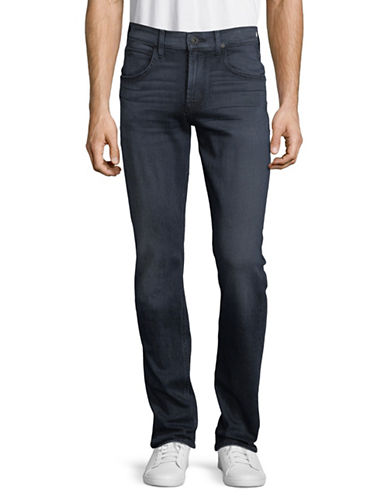 Hudson Jeans Blake Slim Straight Hallow Jeans-BLUE-34