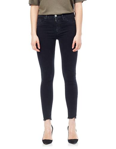Hudson Jeans Barbara Raw Hem Ankle Jeans-MANIAC-32