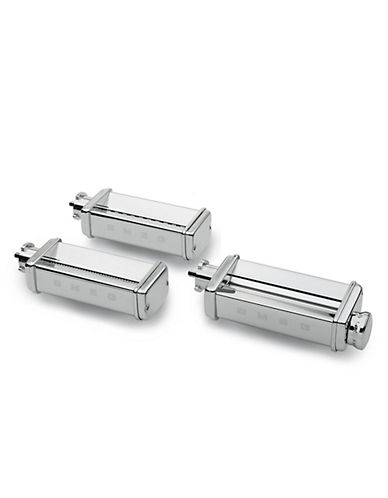 Smeg Pasta Roller and Cutter Set - For Stand Mixer-STAINLESS STEEL-One Size