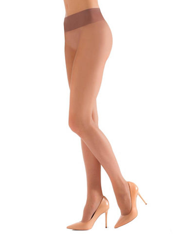 Natori Revolutionary Sheer Control Top Pantyhose-BEIGE-X-Large