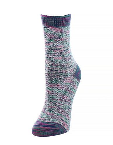 Legmogue Colorswash Crew Socks-PURPLE-One Size