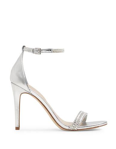 Aldo Ciasa Ankle-Strap Sandals-SILVER-6.5