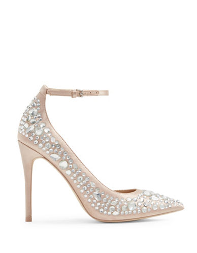 Aldo Jeroredien Embellished Pumps-LIGHT PINK-7
