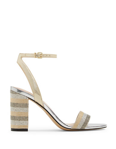 Aldo Carerith Ankle-Strap Sandals-GOLD-8.5