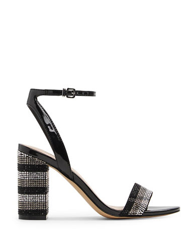 Aldo Carerith Ankle-Strap Sandals-BLACK MISC-7.5