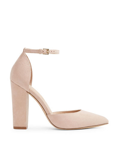 Aldo Nicholes D'Orsay Pumps-LIGHT PINK-7.5
