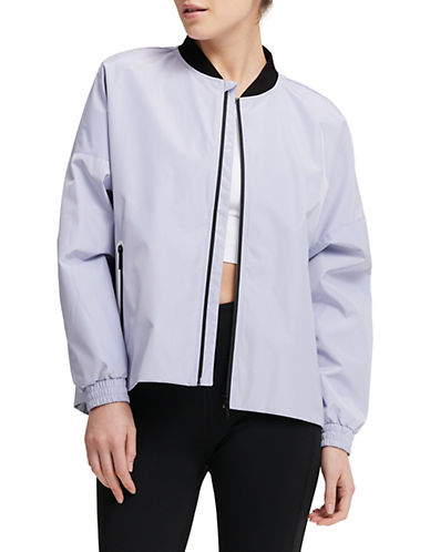 Dkny Oversized Bomber Jacket-BLUE-Large 90073762_BLUE_Large