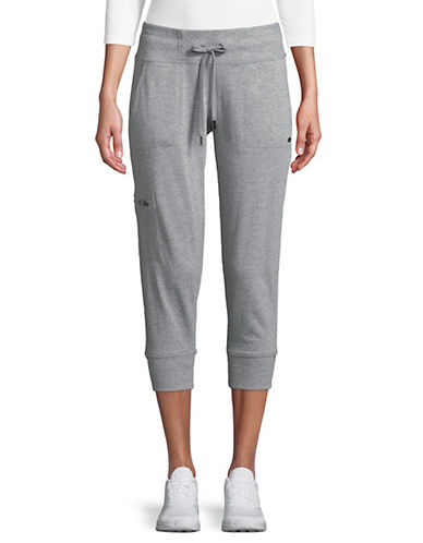 Dkny Cropped Jogger Pants-GREY-Large 90073797_GREY_Large
