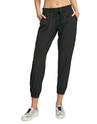 Dkny Mesh Insert Jogger Pants-BLACK-Medium 90073811_BLACK_Medium