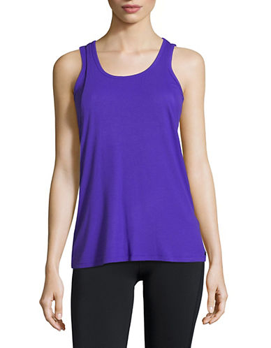 Dkny Layered Tank Top-BLUE-X-Large 90073838_BLUE_X-Large