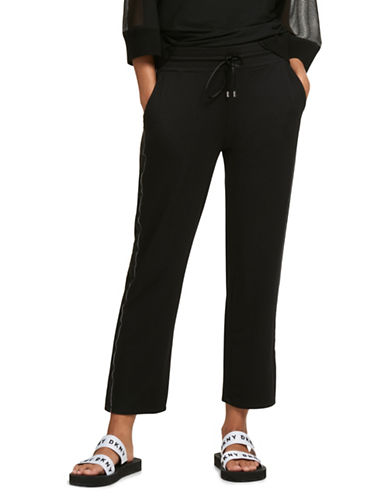 Dkny Active Drawstring Pants-BLACK-Small 89932278_BLACK_Small