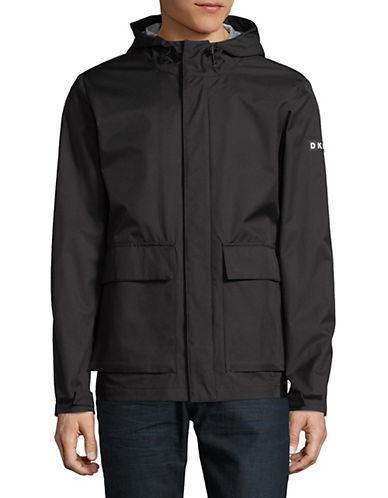Dkny Water-Resistant Hoodie-BLACK-Large 89835947_BLACK_Large
