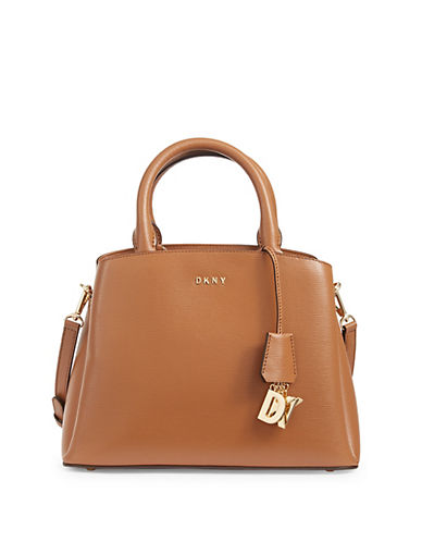 Paige Leather Satchel by Dkny