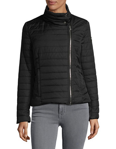 Dkny Classic Quilted Jacket-BLACK-Small 89858398_BLACK_Small
