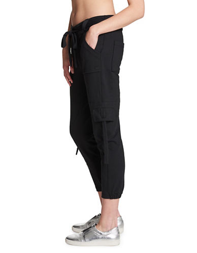 Dkny Relaxed Cargo Sweatpants-BLACK-Large 89971997_BLACK_Large