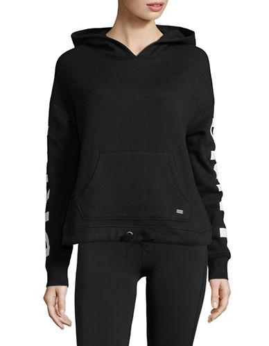 Dkny Logo Pullover Hoodie-BLACK-Small 89794109_BLACK_Small