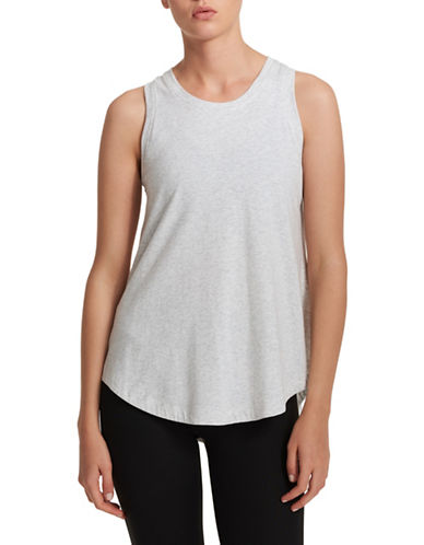 Dkny Round Neck Tank Top-GREY-Small 89971957_GREY_Small
