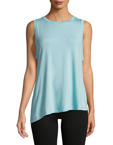 Dkny Asymmetrical Hem Tank Top-MIST-Medium