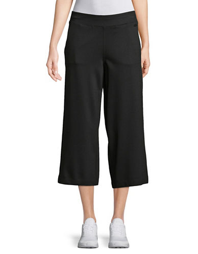 Dkny High Waist Cropped Pants-BLACK-Small