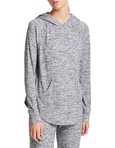 Dkny Heathered Lounge Hoodie-GREY-Medium 89794088_GREY_Medium