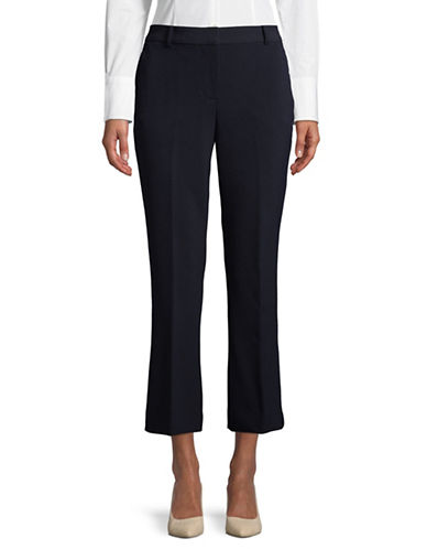 Dkny Flare Ankle Pants-NAVY-4