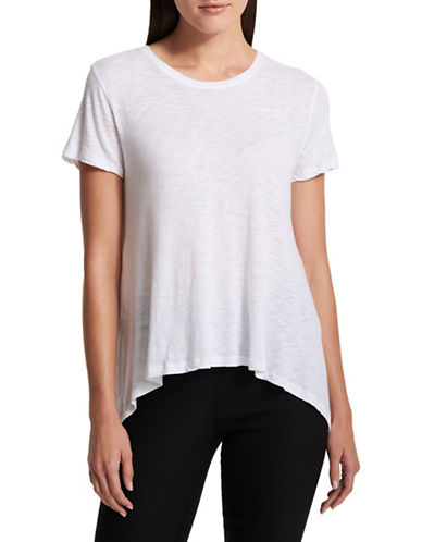 Dkny Trapeze Top-WHITE-X-Small