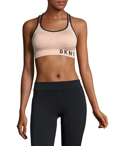 Dkny Active Sports Bra-PINK-Medium 89604181_PINK_Medium