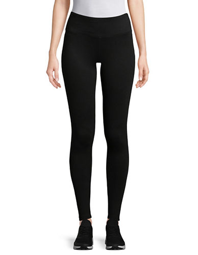 Dkny Basic Leggings-BLACK-Small