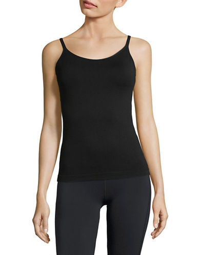 Dkny Seamless Camisole-BLACK-Large