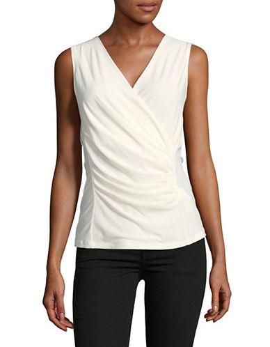 Dkny Casual Blouse-NATURAL-X-Small