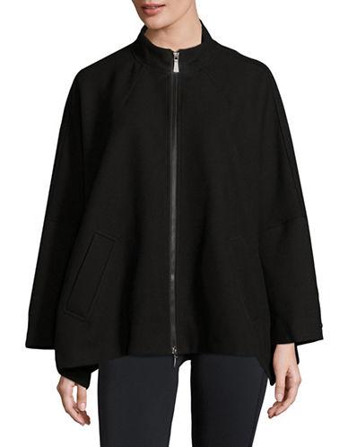 Dkny Cape Sleeve Jacket-BLACK-X-Large