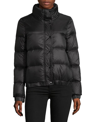 Dkny Funnel Neck Down Jacket-BLACK-Large