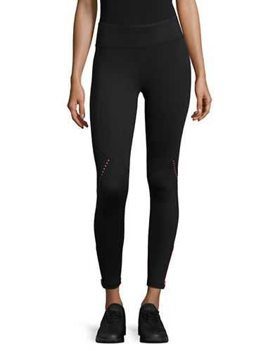 Dkny Reflective Leggings-PINK-Small