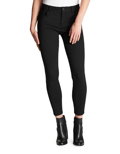 Dkny Stretch Pants-BLACK-30