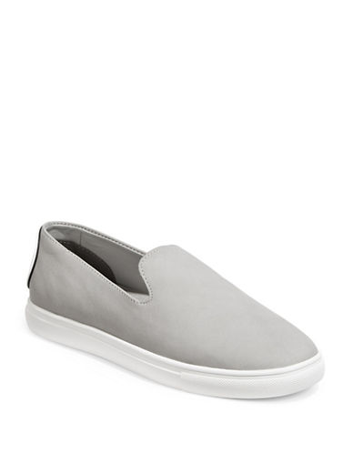 Dkny Jilian Slip-On Sneakers-GREY-5