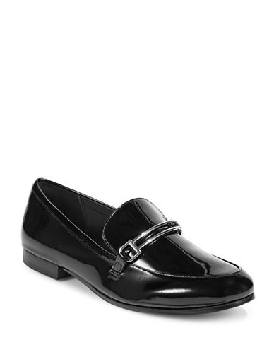 Dkny Ward Leather Loafers-BLACK PATENT-10