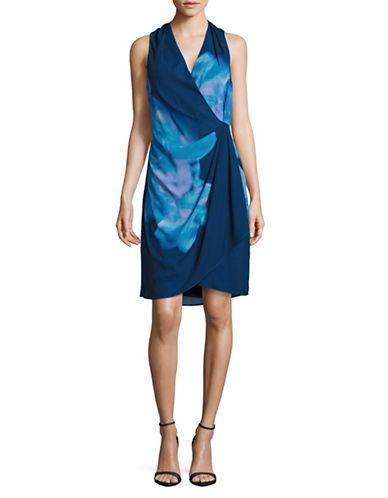 Dkny Abstract Floral Sheath Dress-MULTI-10