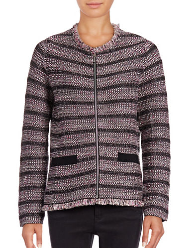 Weekend Max Mara Attore Zip-Front Jacket-BLACK-Small