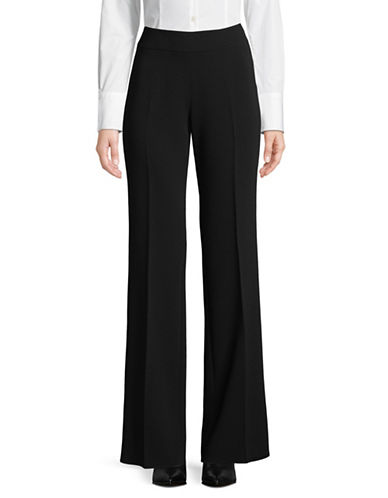 Max Mara Studio Satrapo Wide-Leg Pants-BLACK-EUR 44/US 10