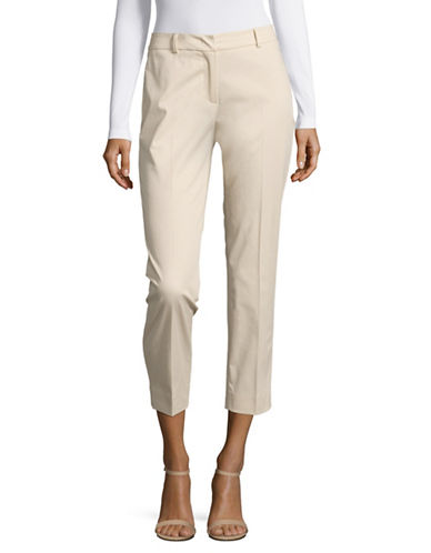 Weekend Max Mara Cleo Cropped Cigarette Pants-SAND-EUR 48/US 14