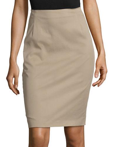 Max Mara Studio Chiffon Colonial Skirt-GREEN-EUR 46/US 12