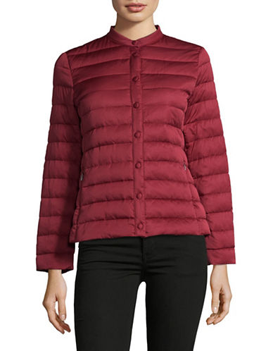 Weekend Max Mara Beber Puffer Jacket-RED-EUR 46/US 12