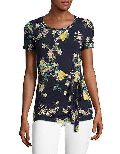 Weekend Max Mara Spagna Floral Top-ULTRAMARINE-Medium