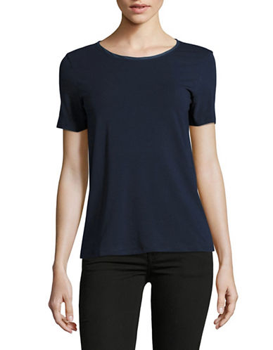 Weekend Max Mara Multid Jersey Top-ULTRAMARINE-X-Large