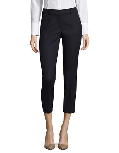 Weekend Max Mara Fauno Slim Cigarette Trousers-ULTRAMARINE-EUR 44/US 10