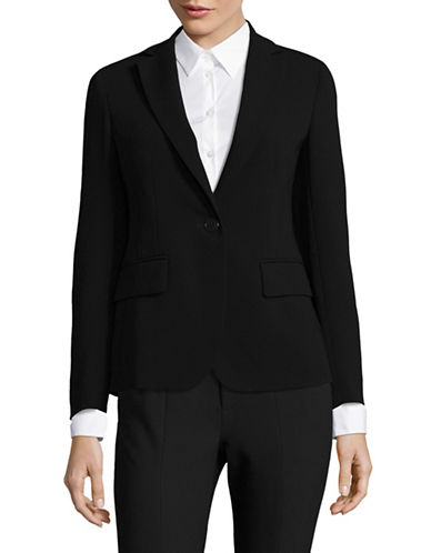 Max Mara Studio Figlio Jacket-BLACK-EUR 44/US 10