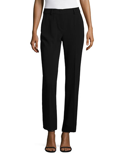 Max Mara Studio Sam Trousers-BLACK-EUR 44/US 10