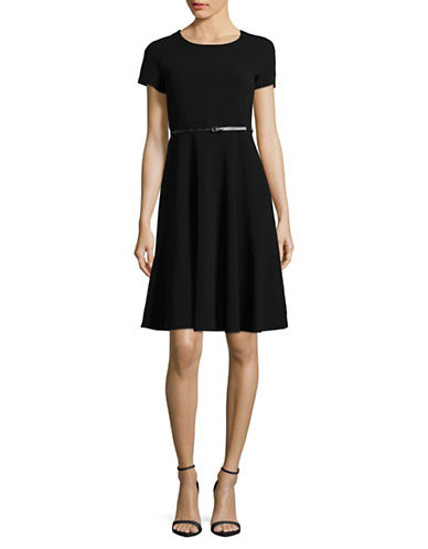 Max Mara Studio Garante Dress-BLACK-EUR 46/US 12