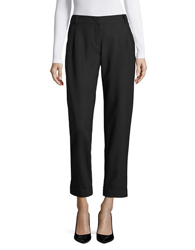 Weekend Max Mara Affari Cuffed Wool-Blend Pants-ULTRAMARINE-EUR 42/US 8